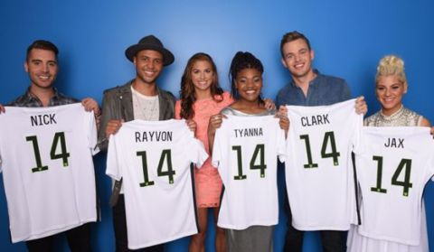Top 5 on American Idol Season 14