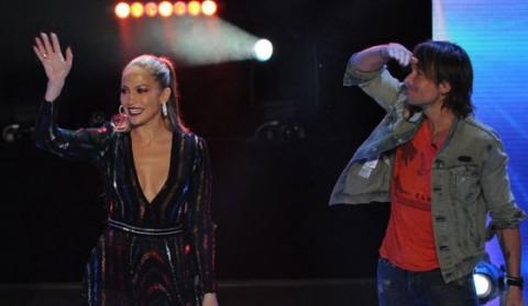 American Idol Judges Jennifer Lopez & Keith Urban
