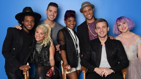 American Idol Top 7 contestants on Season 14