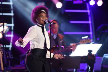 Tyanna Jones performs on Wednesday