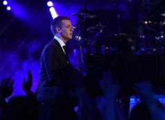 Clark Beckham performs on AMERICAN IDOL