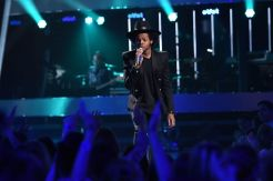 Quentin Alexander performs on AMERICAN IDOL 2015