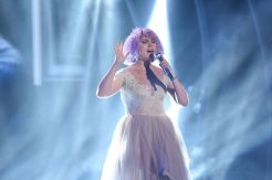 Joey Cook performs on AMERICAN IDOL XIV