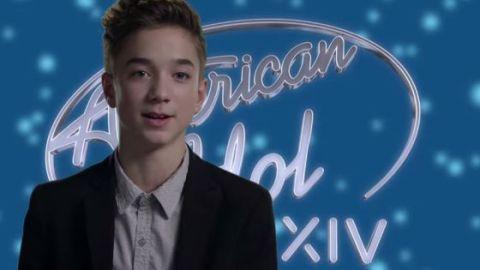 Daniel Seavey says goodbye to American Idol 2015