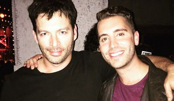 Harry Connick Jr. & Nick Fradiani after American Idol finale