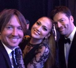 Idol Judges Keith, Jennifer, and Harry