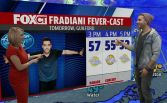 Nick Fradiani gives us the weather