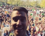 Nick Fradiani poses with his fans