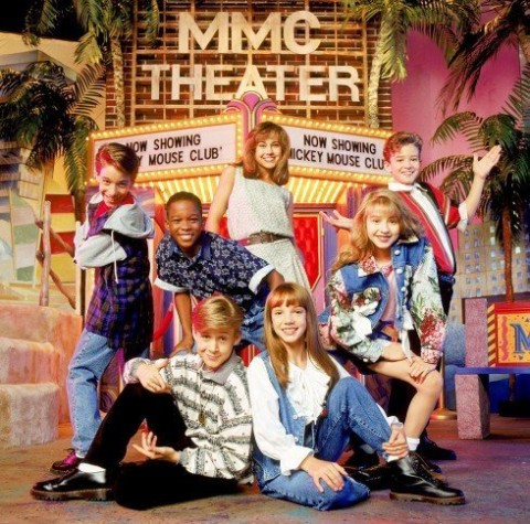 The Mickey Mouse Club gang (Buena Vista Television)