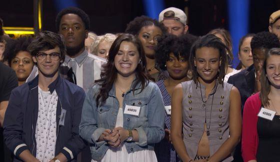 American Idol Hopefuls in Hollywood