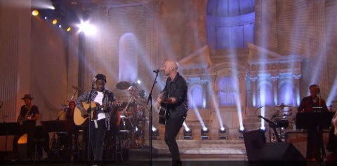 Chris Daughtry and Lee Jean Jr. American Idol Top 24 duet (FOX)
