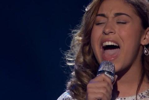 Gianna Isabella American Idol 2016 (FOX)