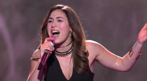 Gianna Isabella American Idol 2016 (FOX)