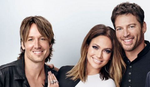 American Idol Judges Urban, Lopez, and Connick