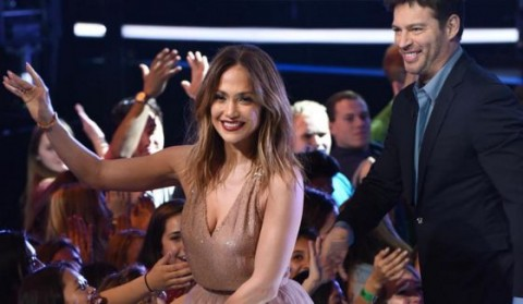 Jennifer Lopez and Harry Connick Jr on American Idol