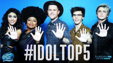 American Idol 2016 Top 5 finalists