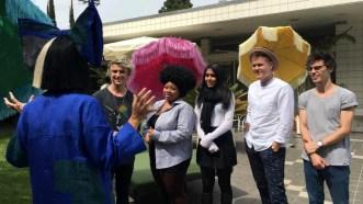 American Idol Top 5 meet with Sia