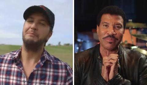 Idol Judges Luke Bryan and Lionel Richie