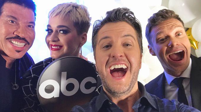 American Idol judges & host on ABC