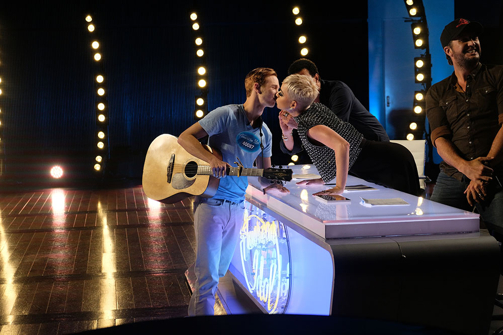 Katy Perry kissed this 'American Idol' contestant without his consent