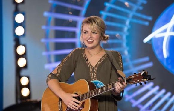 Maddie Poppe on American Idol 2018