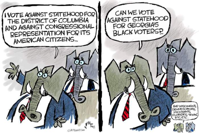 Cartoon: Enemy of statehood