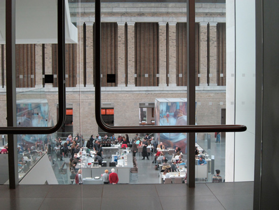 Interior view of the Museum of Fine Arts, Boston