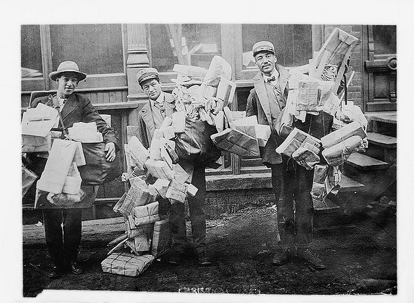 Bringers of Cheer (Courtesy of the Library of Congress via the Commons on Flickr)