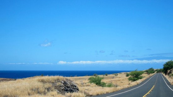We could see Maui, © 2014 Susan Barsy