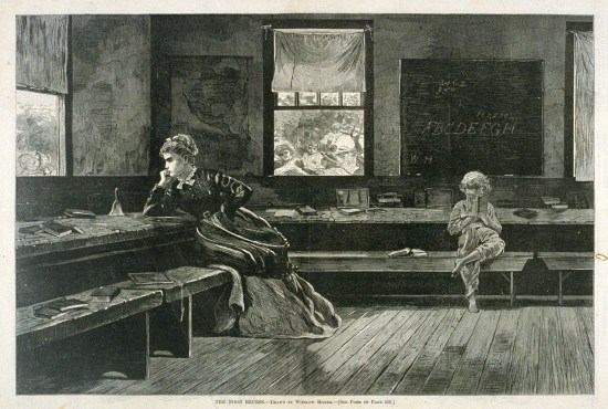 Winslow Homer, The Noon Recess (Courtesy Library of Congress)