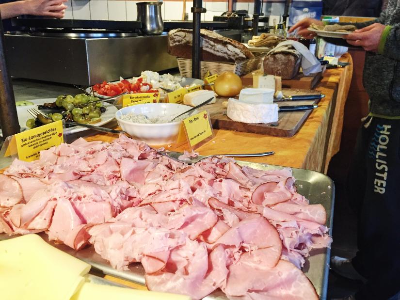 brunch buffet cafe der provinz vienna austria