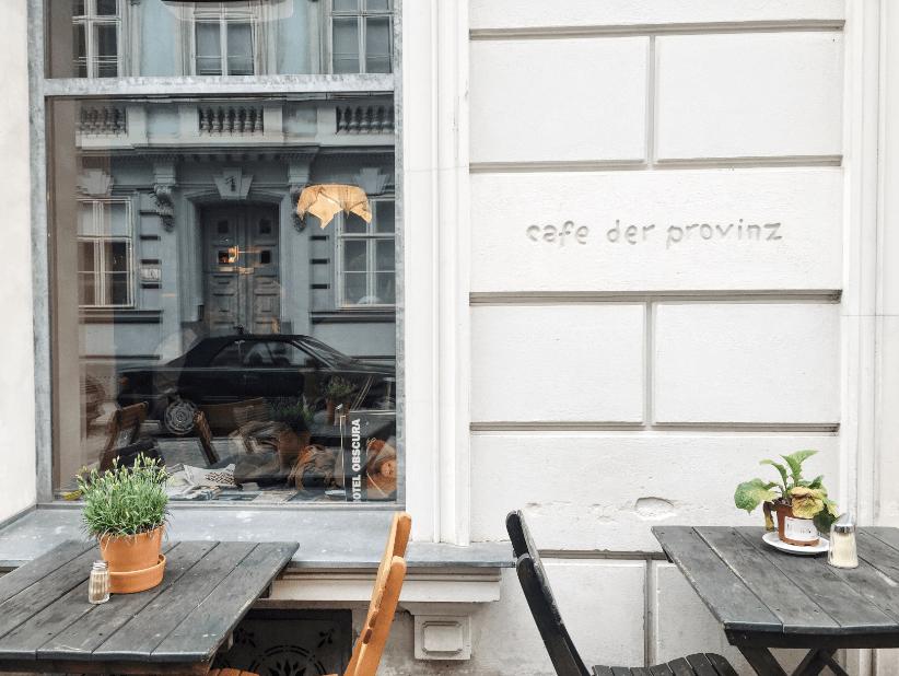 cafe der provinz outside vienna austria