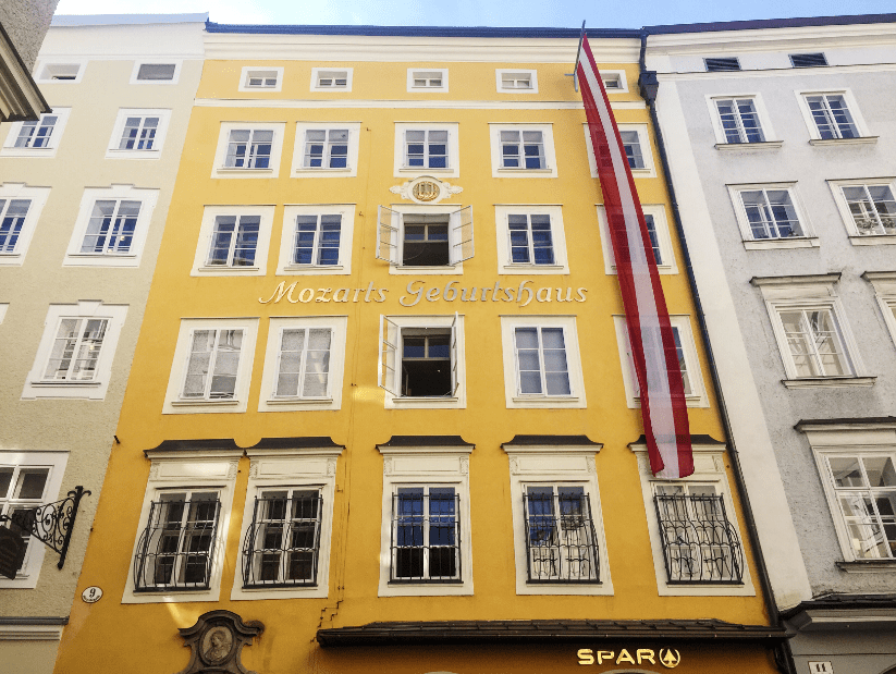 mozart birth house