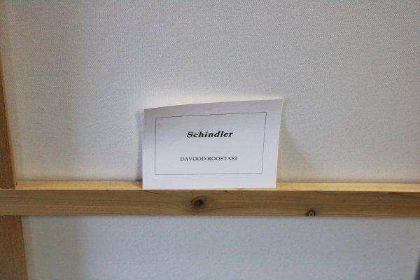 Roostaei Schindler Original Painting card