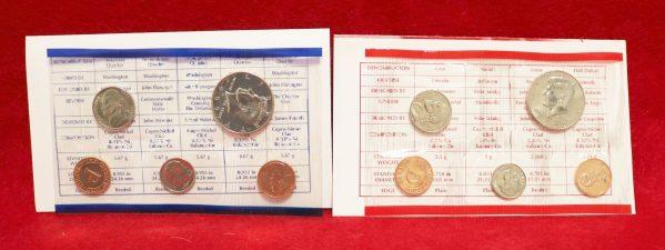 1999 Mint Coin Set main coins