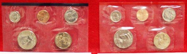 2000 Mint Coin Set mains
