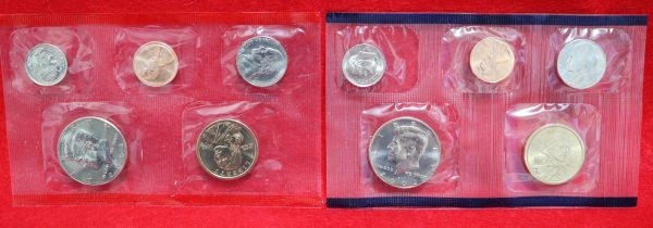 2002 Uncirculated Coin Set coins