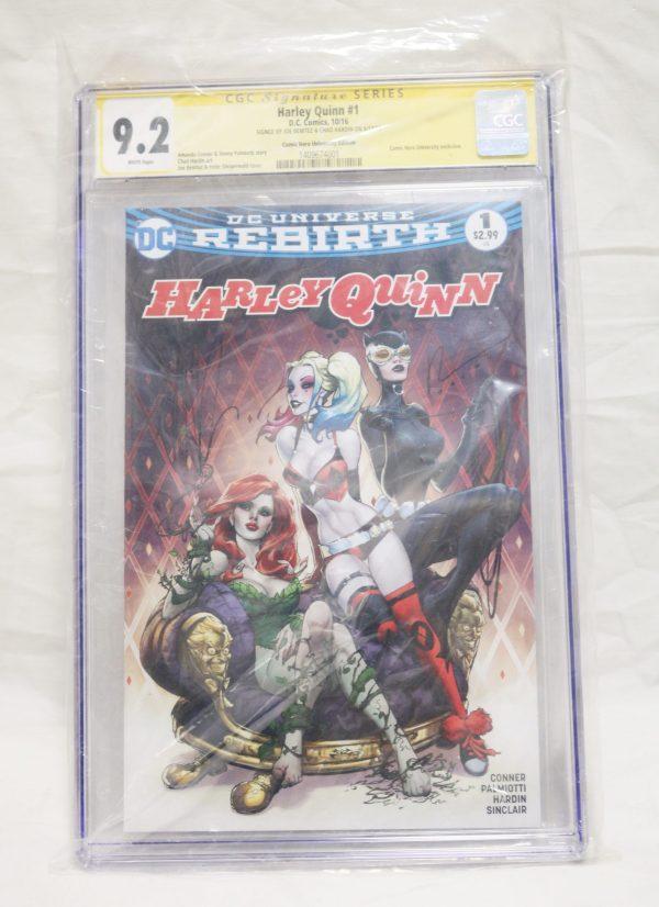 Harley Quinn Rebirth Comic main