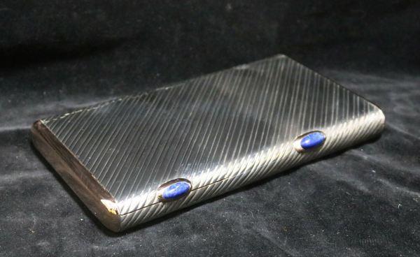 Silver Cigar Cigarette Box main 2