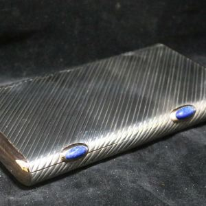 Silver Cigar Cigarette Box main 2