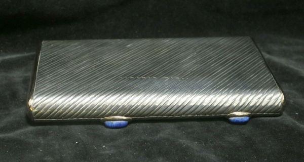 Silver Cigar Cigarette Box main