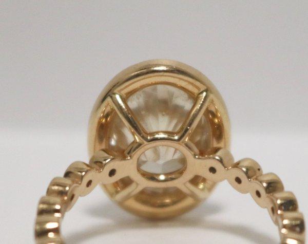Rose Gold Diamond Ring bottom