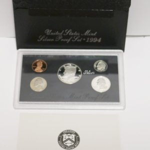 1994 Silver Proof Coin Set main pict