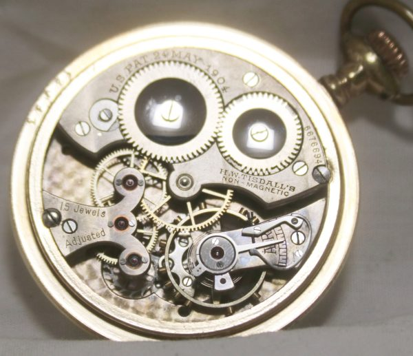 Tisdall 13s Pocket Watch move