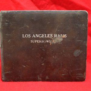 Rams Super Bowl Photo Album front
