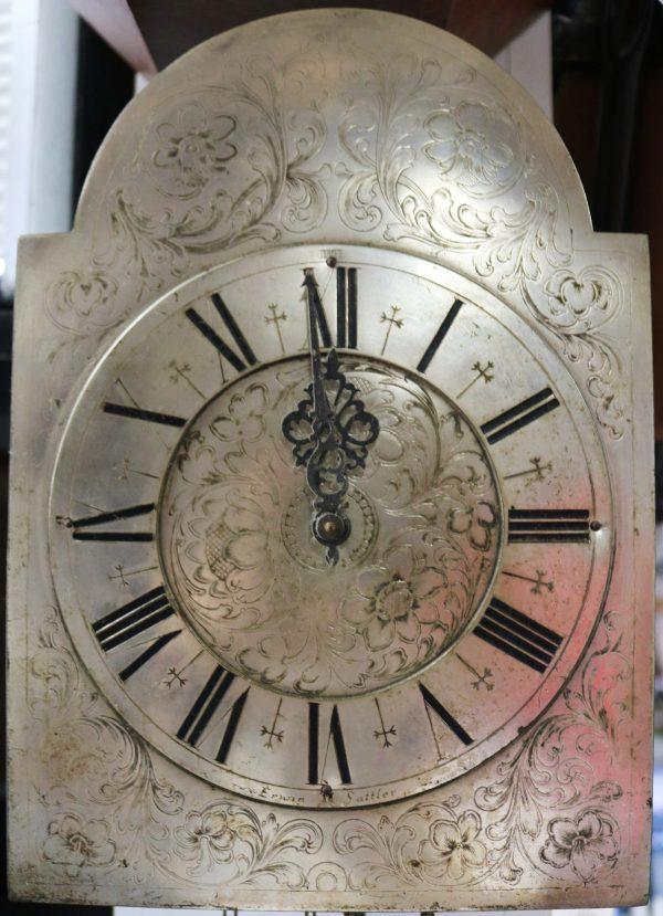Erwin Sattler Wall Clock face