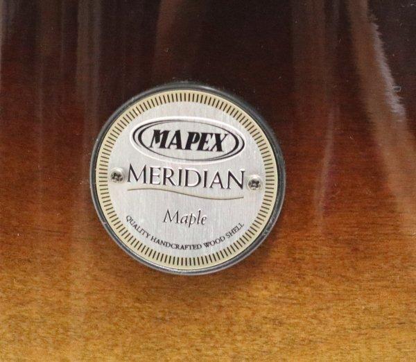 Mapex Meridian Maple Drum insignia