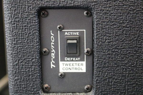 Traynor DynaBass Bass Amp treble