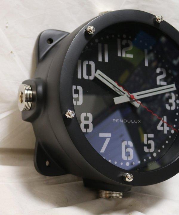 Pendulux Navy Master Clock side