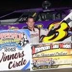 Oakshade Raceway Results 8/31/13